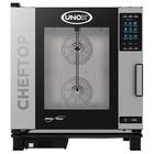 Unox Kombidämpfer Plus-Gas-Kombiherd | XEVC-0711-GPR | 7 x GN 1/1 | 750x773x843 (h) mm