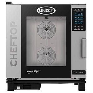Unox Kombidämpfer Plus-Gas-Kombiherd   XEVC-0711-GPR   7 x GN 1/1   750x773x843 (h) mm