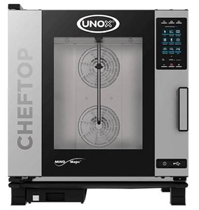 Unox Combisteamer Plus Gas Combi Oven | XEVC-0711-GPR | 7 x GN 1/1 | 750x773x843 (h) mm