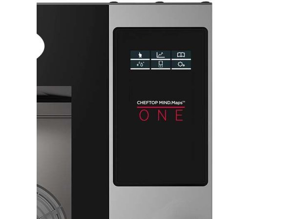 Unox Combisteamer One Electric Combi Oven | XEVC-0711-E1R | 7 x GN 1/1 | 400V | 750x773x843(h)mm