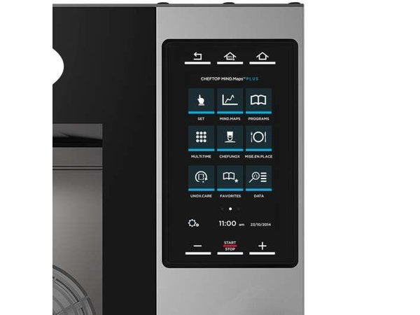 Unox Combisteamer Plus Electric Combi Oven | XEVC-0511-EPR | 5 x GN 1/1 | 400V | 750x773x675(h)mm