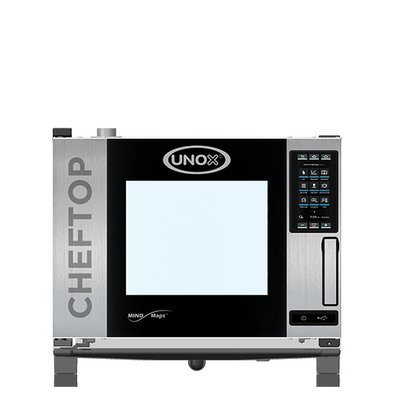 Unox Combisteamer Plus Gas Combi Oven | XEVC-0511-GPR | 5 x GN 1/1 | 750x773x675 (h) mm
