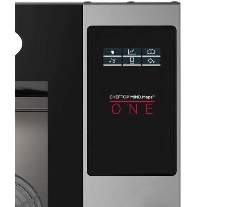 Unox Combisteamer One Electric Combi Oven | XEVC-0311-E1R | 3 x GN 1/1 | 230V | 750x773x538(h)mm