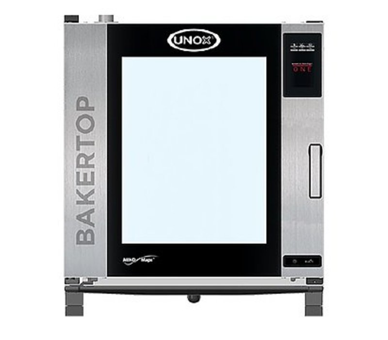 Unox Combisteamer Plus Electric Combi Oven | XEBC-10EU-EPR |10 x 600x400mm | 400V | 860x957x1163(h)mm