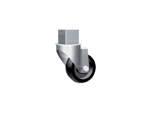 Unox Kit 4 Wheels   2 With Brake   XUC010