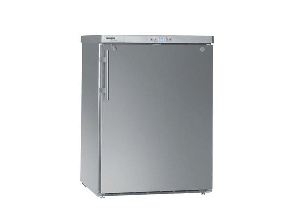 Liebherr Unterbau Dynamische Edelstahl-Kühlschrank | Liebherr | 141 Liter | FKUv 1660 | 60x61x (h) 83 cm