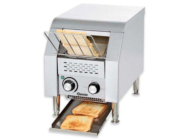 Bartscher Gehen Sie durch Toaster 75 Scheiben pro Stunde - einstellbare Geschwindigkeit - 29x44x (H) 38,5cm - 1340W