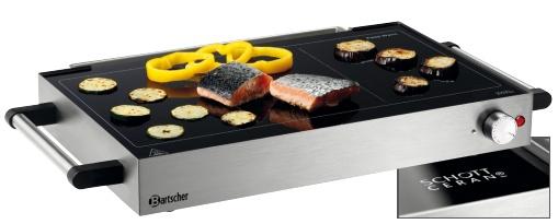 Ceran grill warmhoudplaat kopen bartscher 104919 xxlhoreca for Ceran grill