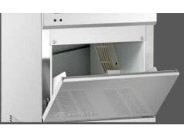 Bartscher IJsblokjesmachine- 25 kg/24 uur - Voorraad 25kg - 40x55x(h)69cm