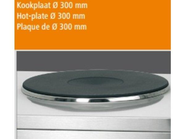 Bartscher Hokker - elektrisch - 3500W