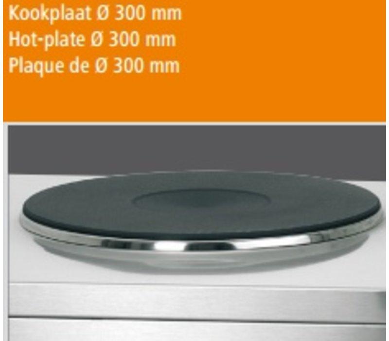 Bartscher Hokker - Elektro - 3500W