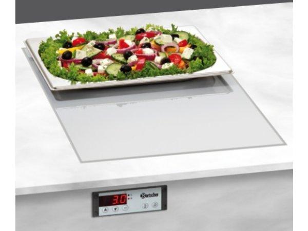 Bartscher Elektrischer Combi Platte - Kalt und Warm - 1/1 GN - 53x33x (h) 18 cm