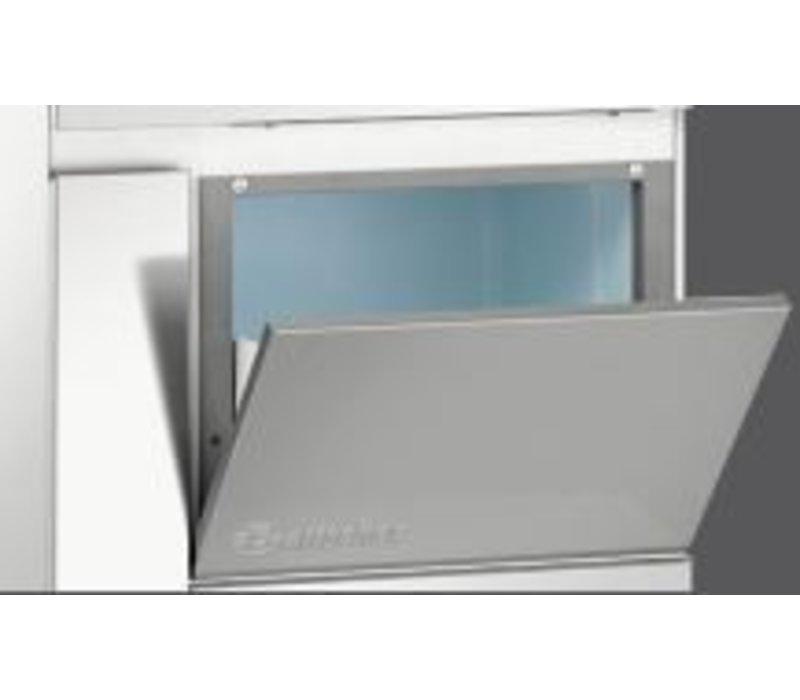 Bartscher Scherfijsmachine- 120 kg/24 uur - Voorraad 27kg - 68x51x(h)100cm