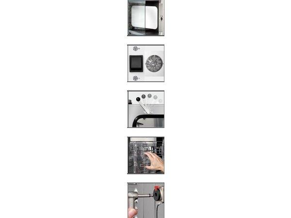 Bartscher Elektrische combi-steamer M 7110 tot 7 x 1/1 GN