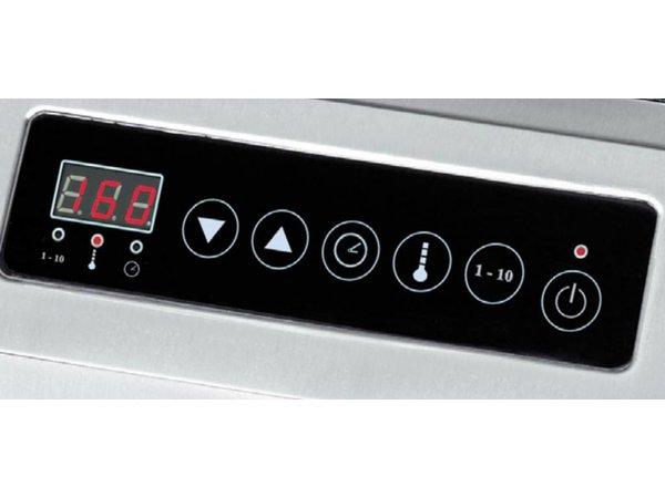 Bartscher Inductie-kookplaat IK 30TCS - 33x41,5x(h)10 - 3000W/230V