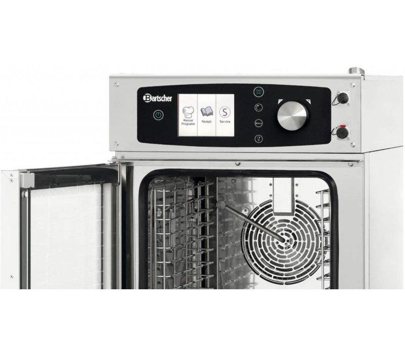 Bartscher Combi-Steamer - 10 x 1/1 GN - 19 Inschuifelementen - 52x85x(h)101cm
