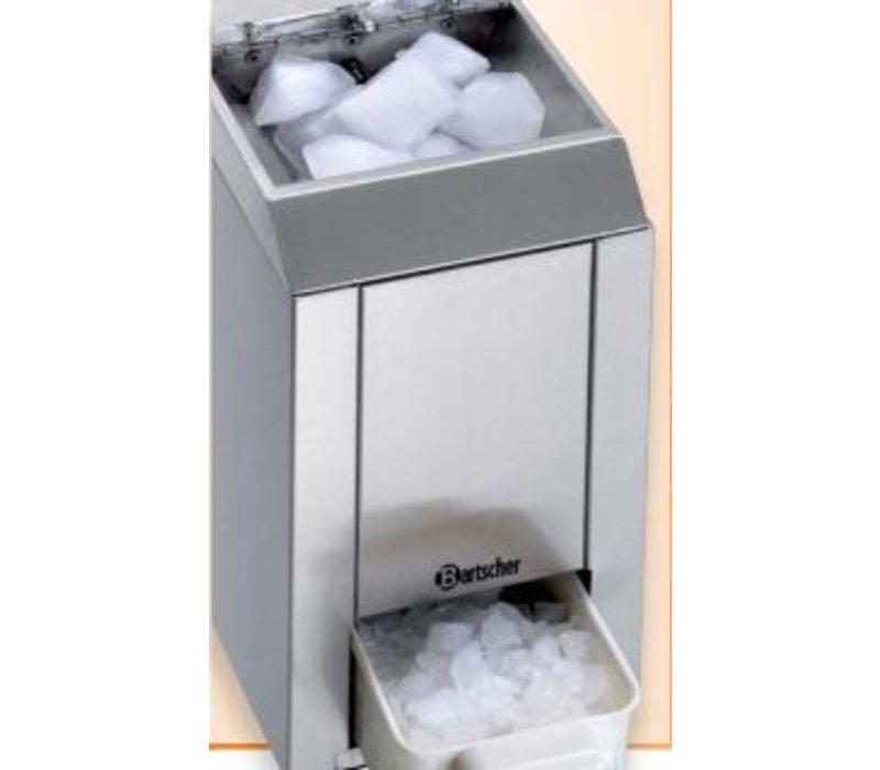 bartscher ice crushing 60 kg h 1 kg stock 173x380x. Black Bedroom Furniture Sets. Home Design Ideas