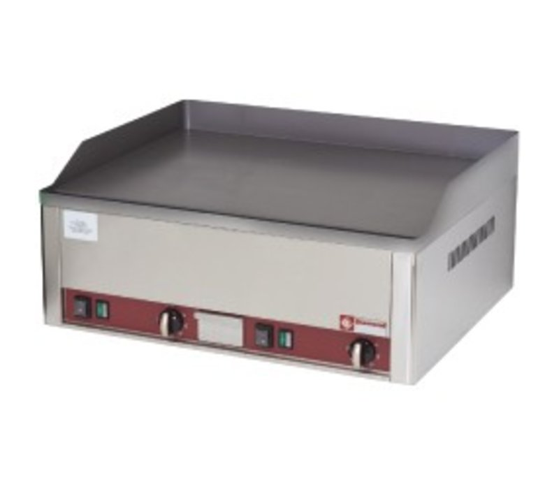 Diamond Electric Griddle Flat - Iron - Smooth - 66x53x (h) 29cm - 6kW