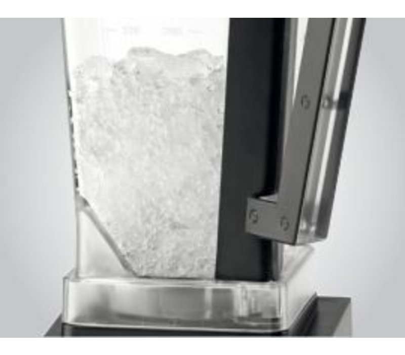 Bartscher Multi Mixer   Gehäuse Edelstahl   3 Geschwindigkeiten   Pulse Funktion   215x215x (H) 460mm