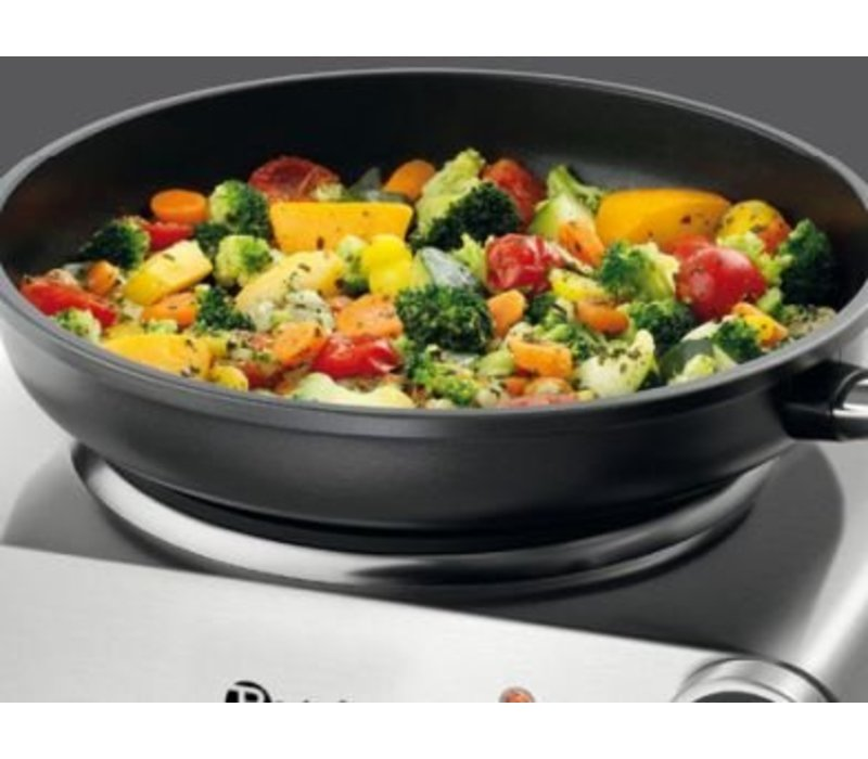 Bartscher Electric hob | One Plate | Stainless steel | 305x245x (H) 85mm