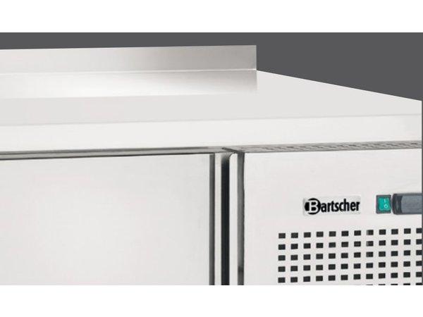 Bartscher Koelwerkbank - Edelstahl - 2 Türen und 2 Schubladen - 179x70x (h) 85cm - mit Grenze Spat