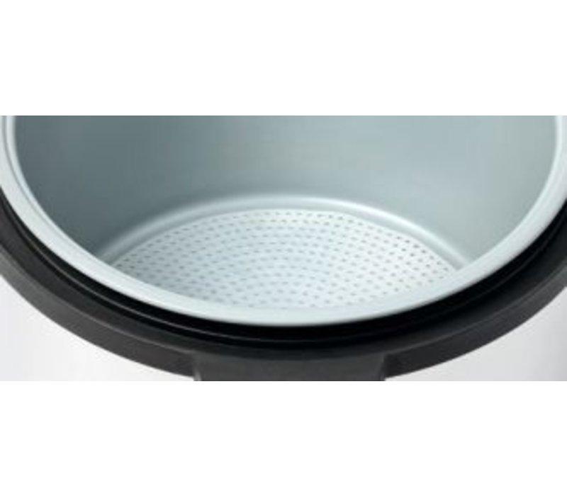 Bartscher Rice Cooker 12 Liter | Stainless steel | Ø465x (H) 400mm
