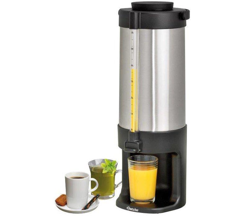 Bartscher Double-Hot Water Dispenser   SS   level indicator   3 liter