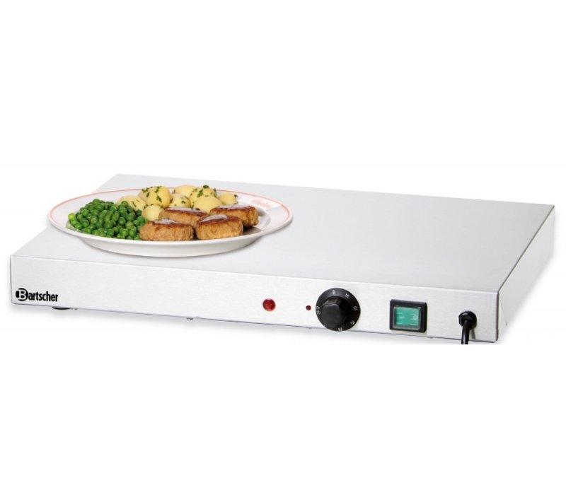 Bartscher Elektrische Kochplatte - Edelstahl - 50x37,5x (h) 6,4cm