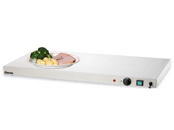 Bartscher Elektrische Warmhoudplaat - RVS - 90x45x(h)6,5cm