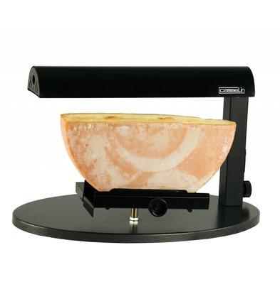 Casselin Raclette-Geräte / Beheizte Käsehalter | Für Halbrund Käse | 600W | 520x320x310 (h) mm