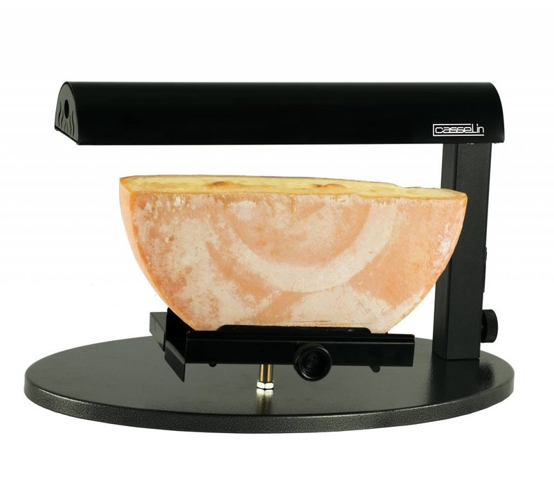 Casselin Raclette Apparaat / Verwarmde Kaashouder | Voor Halve Ronde Kaas | 600W | 520x320x310(h)mm