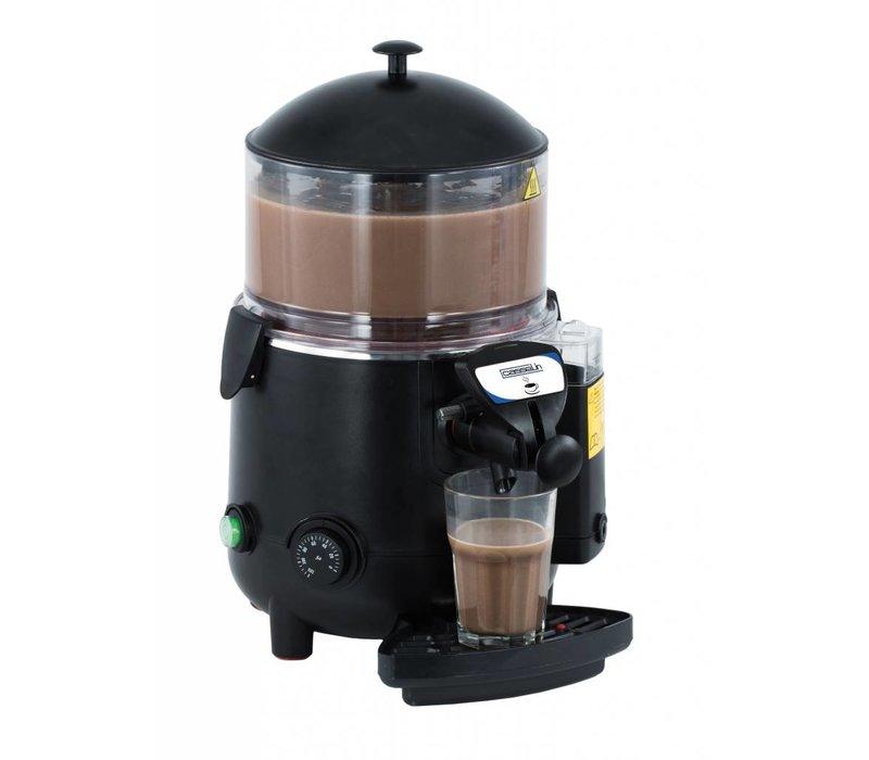 Casselin Chocoladedispenser Zwart ABS | 5 Liter | 1006W | 410x280x460(h)mm