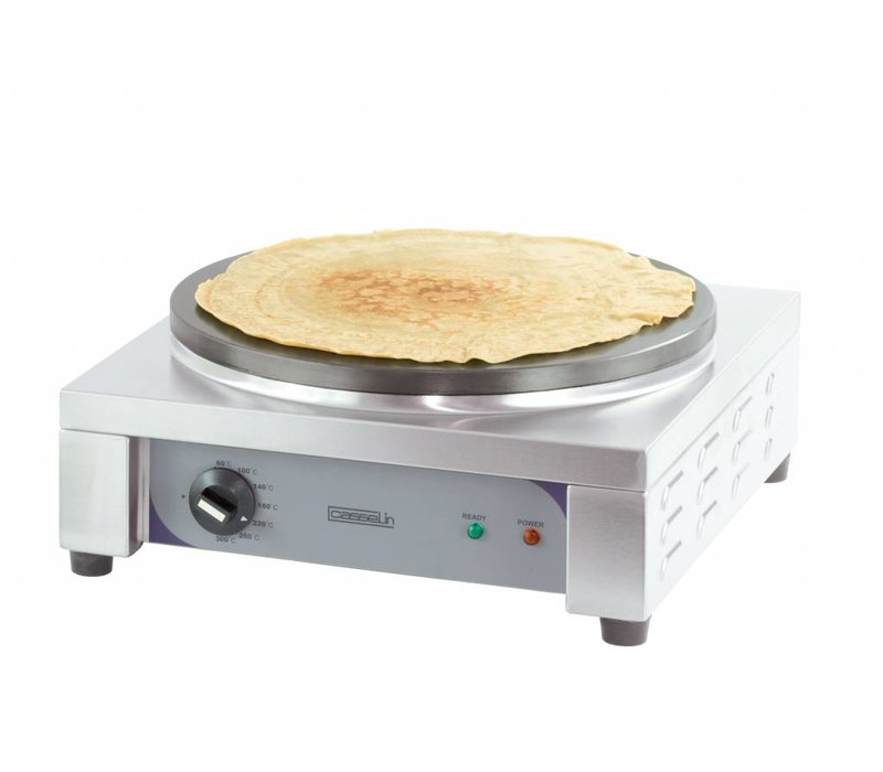 Casselin Square Crèpes Griddle | electric | 400mm | 2,7kW | 440x445x190 (h) mm