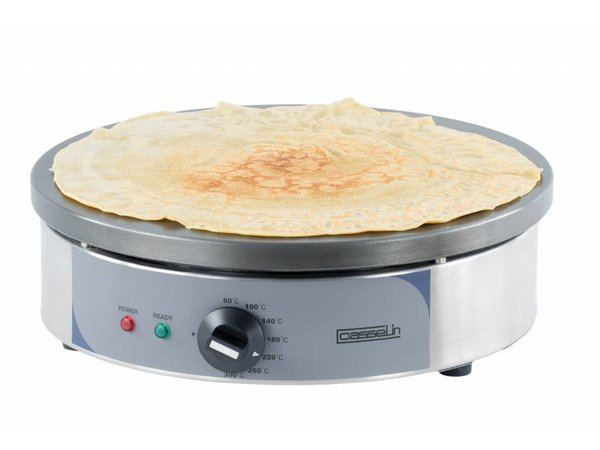 Casselin Crèpes Griddle Stainless Steel Round | electric | Ø350mm