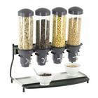 Casselin Cereal Dispenser Metal   4 ABS Piping x 3 Liter   600x390x640 (h) mm