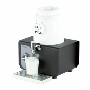 Casselin Warm milk dispenser - Porcelain Barrel - 4 Liter - 290x260x390 (h) mm