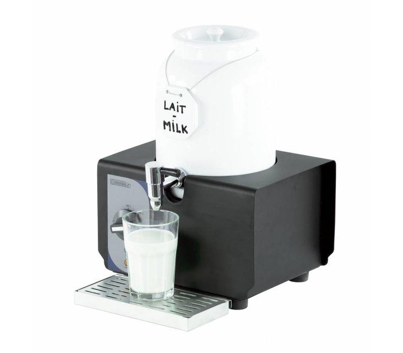 Casselin Warm milk dispenser - Porcelain Barrel - 4 Liter - 290x260x390 (h) mm