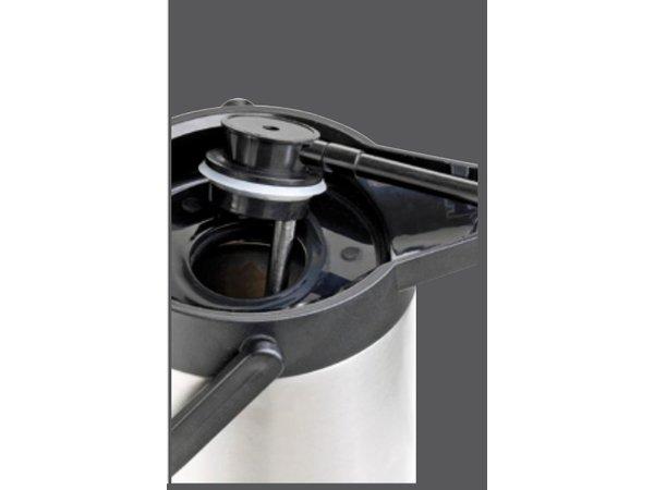 Bartscher Pumpthermoskanne aus Edelstahl - 2 Liter