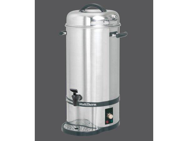 Bartscher Hot water boiler / Glühwein kettle | 20 liter | incl. Hot lid for 10-15 cups