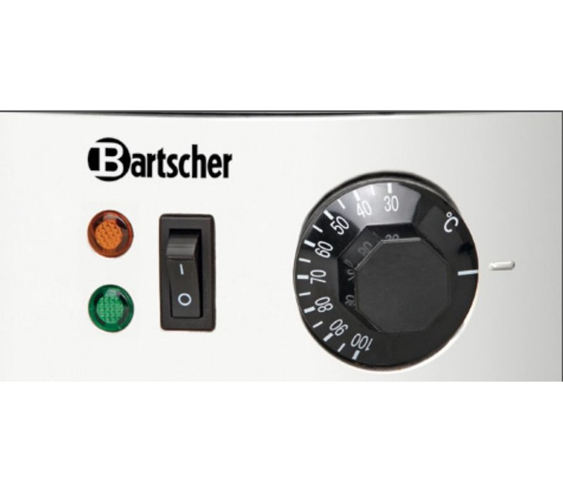 Bartscher Glühwein stainless steel boiler / hot water dispenser | Ø395 mm | faucet | 28 liters