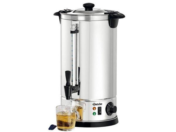 Bartscher Hot Water Dispenser Jacketed | 8,5 Liter | Chromnickelstahl | Ø225x (H) 470mm