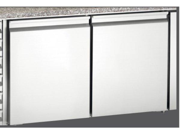 Bartscher Coole Werkbank mit Granit-Arbeitsplatte | Luftgekühlte | 2025x800x (H) 980-995mm