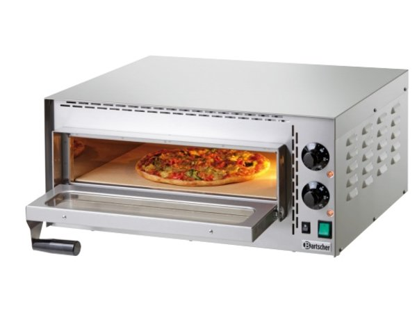 Bartscher Pizzaofen Elektro Single   1 Pizza 35cm   Mini Plus   570x470x (H) 250mm