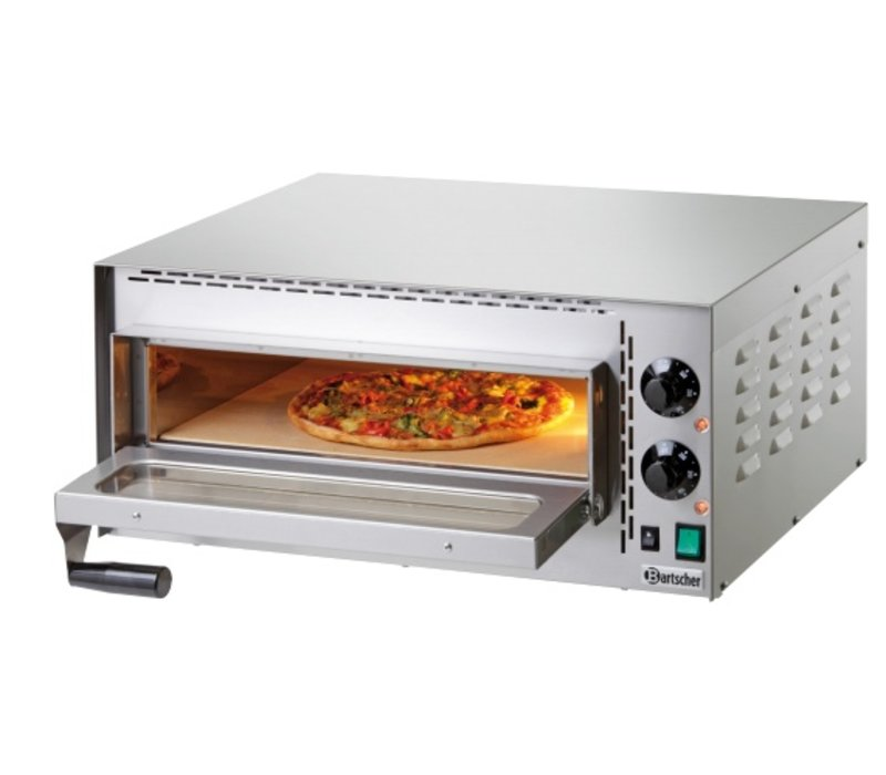 Bartscher Pizza Oven Electric Single   1 Pizza 35cm   Mini Plus   570x470x (H) 250mm