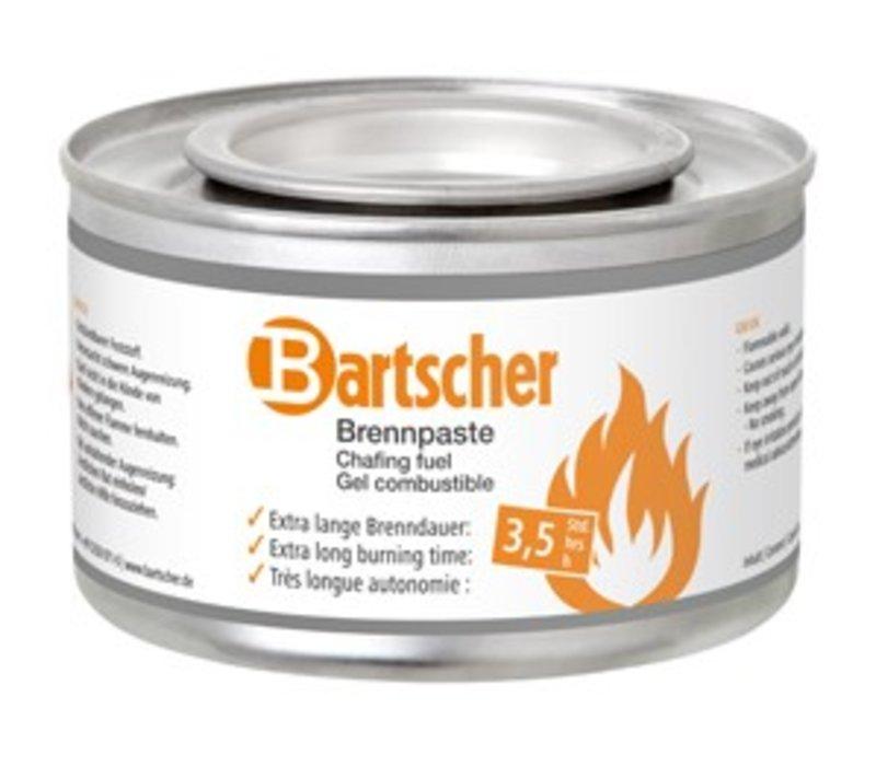 Bartscher Brandpasta - 72 blikken - 3,5 uur brandtijd