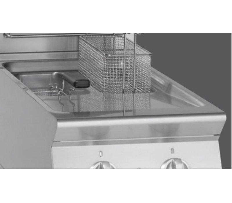 Bartscher Fritteuse | Elektrizität | 2 x 8 Liter | 400V | 14kW | Mit Berg | 400x700x (H) 850mm