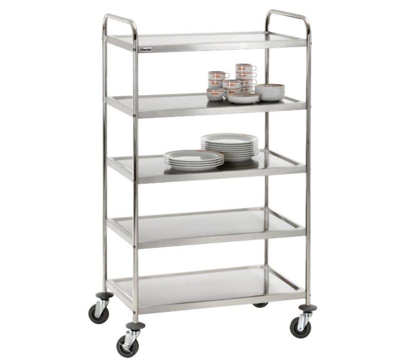 Bartscher Carts - 5 Blätter - 920x600x (h) 1540mm - 150Kg