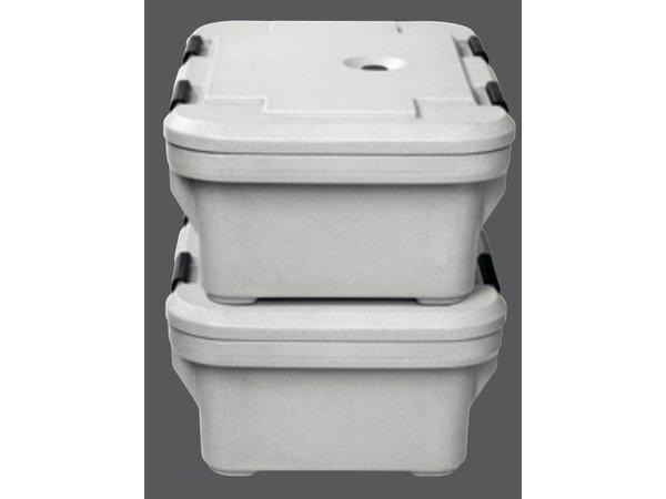 Bartscher Thermische Transportbehälter | 1/1 GN | 22 Liter | -20 ° C bis 120 ° C | 650x450x (H) 260mm