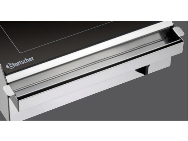 Bartscher Electric Griddle - Smooth - 42x60x (h) 17cm - 2.5kW