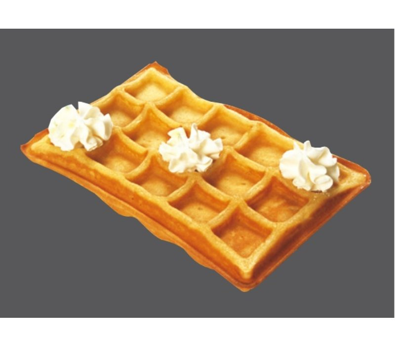 Bartscher Double Waffle iron - for Brussels Waffles - 600x360x (h) 255mm - 2x 2.2KW